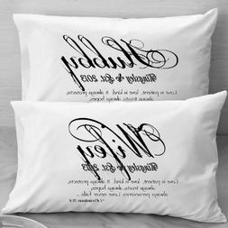 1 Corinthians 13 Love Bible Verse Pillow Cases - Wife Husban