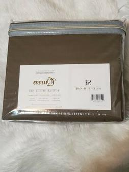 Sweet Home Collection 1500 Supreme Collection 4 Piece Sheet