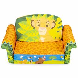 Marshmallow Furniture 2-in-1 Flip Open Couch Bed Kid's Furni