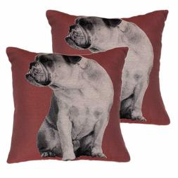 2 Pack Decorative Throw Pillows Covers Checkered Plaids Cott