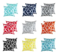 TreeWool,  Throw Pillow Cushion Covers in Cotton Canvas Ring