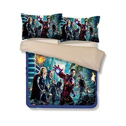 3D The Avengers Bedding Sets - Sport Do Best Gifts for Movie