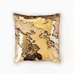 ANKIT Mermaid Pillow Reversible Sequin Pillow That Changes C