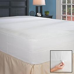 California King Hypoallergenic Bed Bug Mattress Cover with A