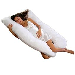 Cheer Collection Alternative Down Premium Pregnancy U Pillow