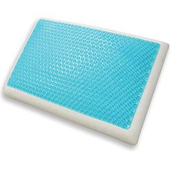 Classic Brands Reversible Cool Gel and Memory Foam Double-Si