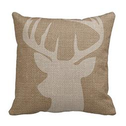 Cukudy Decors Square Decorative Throw Pillow Case Cushion Co