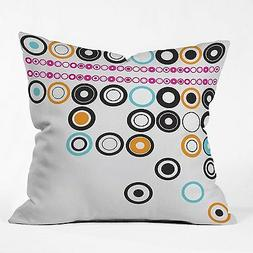 DENY Designs Brandon Dover Boggled Throw Pillow, 26-Inch by