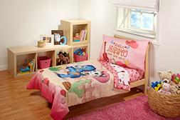 Disney 4 Piece Sheriff Callie Cutest Cowgirl Toddler Bed Set