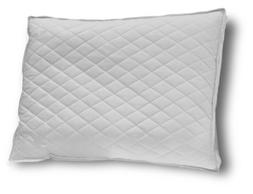 Down Etc Diamond Support Duck Down Queen Feather Pillow, Whi