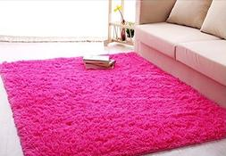 Forever Lover Soft Indoor Morden Shaggy Area Rug Pad, 2.5 X