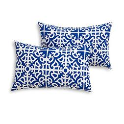 Greendale Home Fashions Rectangle Outdoor Accent Pillow , In