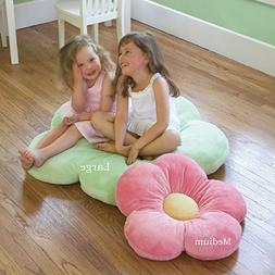 Heart to Heart Girls Flower Floor Pillow Seating Cushion a R