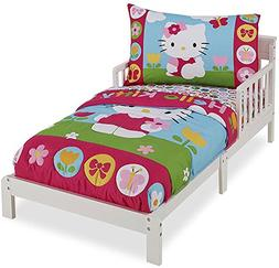 Hello Kitty 4 Piece Toddler Bedding Set