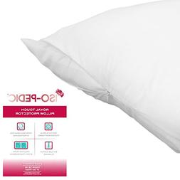 ISO-PEDIC King Size Zippered Pillow Protector: Royal Touch,