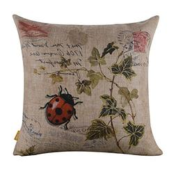 LINKWELL 45x45cm Seven-spotted Ladybug Ladybird insects Cocc