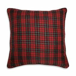 Pillow Perfect Holiday Plaid Red 20-inch Throw Pillow