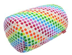 Rainbow Print Bead Kids Bed Roll Chair Home Cushion Soft Tub