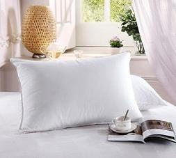 Royal Hotel's Down Pillow - 500 Thread Count 100% Cotton, Do