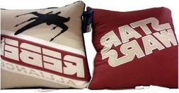 "Star Wars 2pk Decorative Throw Pillows 15"" X 15"" - Starfight"