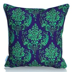 "Sunburst Outdoor Living 20"" x 20""  GLAMOUR Purple Green Dama"
