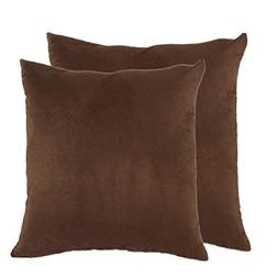 """sykting 2pcs 18"""" X 18"""" Square Decorative Throw Pillow Cover"""