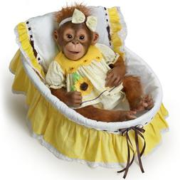 The Ashton-Drake Galleries: You Are My Sunshine Monkey Doll: