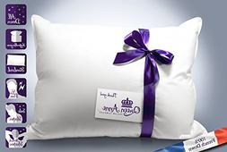 The Original Queen Anne Pillow - French Goose Down Luxury Pi