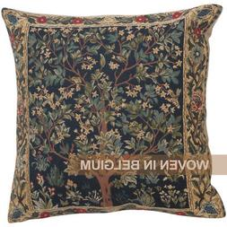 William Morris Tree of Life Tapestry Throw Pillow Cover 18x1