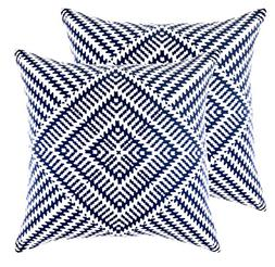 TreeWool 2 Pack Throw Pillow Covers Kaleidoscope Accent Deco