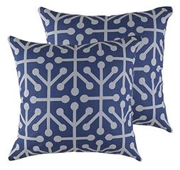TreeWool,  Octaline Accent Throw Pillow Covers in Cotton Can