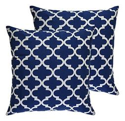 TreeWool,  Throw Pillow Covers Trellis Accent Decorative Pil