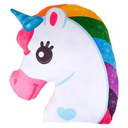 Wish Novelty - Unicorn Pillow - Soft and Plush Decorative Th