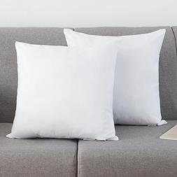 YSTHER Set of 2, Down and Feather Pillow Inserts/Throw Pillo