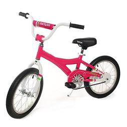 KaZAM Alloy Pedal Bike with Coaster Brake, 16-Inch, Pink