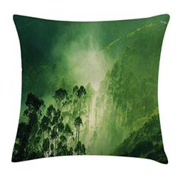 Americana Landscape Decor Throw Pillow Cushion Cover by Ambe
