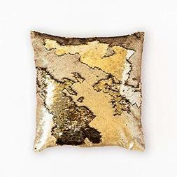 ANKIT Mermaid Pillow Reversible Sequin That Changes Color -