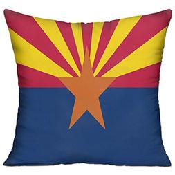 Arizona Flag Fashion Home Throw Pillows