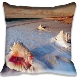 Awesome Shells Pillow Case DIY Pillowcase Cotton and Polyest