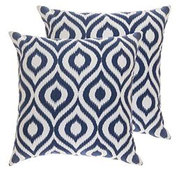 TreeWool Throw Pillow Cover Long Dots Accent Pure Cotton Dec