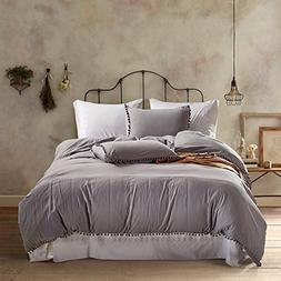 XWP 3 Piece Bedding Sets Duvet Cover and Pillow Case Hanging