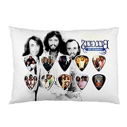 Bee Gees Pillowcase in Size 18 X 26 Inch and 2 Side Picture