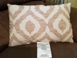 Threshold Beige Down Alternative Fill Toss Throw Pillow 18""