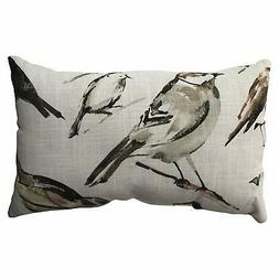 Pillow Perfect Bird Watcher Rectangular Throw Pillow, Charco