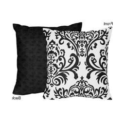 Sweet Jojo Designs Black and White Isabella Decorative Accen