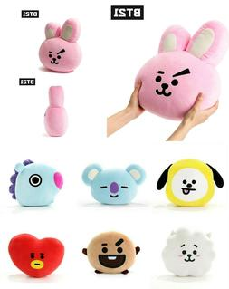 "BT21 Character Decorative Throw Pillow Face Cushion 11"" inch"