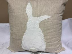 "Threshold Bunny Square Throw Pillow 18"" x 18"""