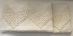 """Magnolia Home By Joanna Gaines 13"""" x 21"""" IVORY  Throw Pillow"""