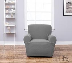 Cambria Collection Deluxe Strapless Slipcover. Form Fit, Sli
