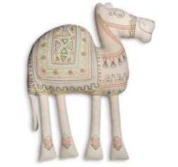 CAMEL Shaped PILLOWFORT Throw Pillow Camel boho Desert Home